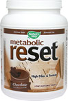 Metabolic Reset Vanilla * Natural Formula; No Artificial Sweetners  * No Stimulants * High Fiber/High Protein * Contains 100% Whey Protein Isolate  630 g Powder  $28.99