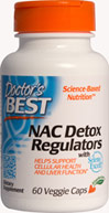 Best NAC Detox Regulators <P><B>From the Manufacturer's label</B></P><P>We are proud to bring you Best NAC Detox Regulators from Doctor's Best. Look to Puritan's Pride for high-quality national brands and great nutrition at the best possible prices</P>  60 Vegi Caps  $6.99