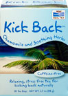 Kick Back™ Chamomile & Soothing Herbs Tea <p><b>From the Manufacturer's Label</b></p> <p>Caffeine-free</p> <p>Relaxing, stress free tea for kicking back naturally</p> <p> This calming fusion of chamomile and stress-relieving botanicals is just what you need to help take the weight of the world off your shoulders - for a little while, at least.</p> <p>Manufactured by NOW® Foods.</p>  24 Tea Bags  $3.99