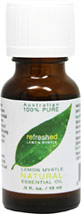 Lemon Myrtle 100% Pure Essential Oil  <p><b>From the Manufacturer's Label:</b></p> <p>Refreshed Lemon Myrtle</p> <p>100% Pure Essential Oil Backhousia citriodora</p>  <p>Manufactured by Tea Tree Therapy</p> 0.5 fl oz Oil