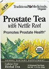 Organic Prostate Tea with Nettle Root  <p><b>From the Manufacturer's Label:</b></p> <p>Organic Prostate Tea with Nettle Root is manufactured by Traditional Medicinals.</p> 16 Tea Bags  $3.99