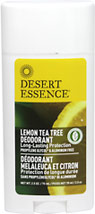 Lemon Tea Tree Deodorant