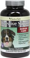 Senior Care Digestive Enzymes Support <b>From the Manufacturer's Label:</B> <P>Formulated specifically for senior dogs with prebiotics and probiotics.  Helps supports a healthy digestive track.</P> 60 Chewables  $22.99