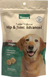 Senior Care Hip & Joint Advanced Formula Soft Chews <B>From the Manufacturer's Label:</B> <P>Formulated specifically for senior dogs with Glucosamine, Chondroitin and MSM.</p>  120 Chews  $15.29