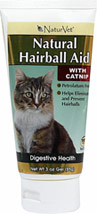 Natural Hairball Aid with Catnip <B>From the Manufacturer:</B> <P>Natural Hairball Aid is a combination of natural herbs and oils which coat the digestive tract to help ingested hair pass through the intestines and prevent hairballs. Formulated with the appealing taste of catnip.</P> 3 oz Gel  $15.29
