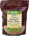 Organic Sucanat® Cane Sugar <p><b>From the Manufacturer's Label:</b></p> <p>Pure Evaporated Cane Juice Powder</p> <p>Excellent Substitute for White & Brown Sugar</p> <p>Naturally Sweet</p> <p>Certified Organic Sucanat® Cane Sugar is a whole cane sugar from pure, dried sugar cane juice and is a healthy alternative to more refined and processed sugars.  It retains all the properties of natural sugar cane, including