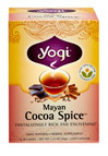 Mayan Cocoa Spice™ Tea <p><strong>From the Manufacturer's Label:</strong></p><p>Discover a treasure in our Mayan Cocoa Spice Tea.<br /></p><p></p><p>This combination of Cocoa Shells with the traditional Ayurvedic warming spices of Cardamom, Clove and Organic Cinnamon Bark results in a perfectly balanced blend of flavor. </p> 16 Tea Bags  $7.69