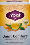 Joint Comfort™ Tea <p><b>From the Manufactuer's Label:</b></p>  <p>Our  unique blend of botanicals from Asia, Africa and America is purposefully formulated to help support the joints.  Naturally Decaffeinated Organic Green Tea joins Organic Turmeric Root, used in Ayurveda to promote joint health, and Yucca Root, traditionally use by Native Americans to help support the joints.  We then add Cat's Claw Root, used for centuries by the Ashanica Indians of South