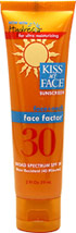 Face Factor® Sunscreen SPF 30 <p><b>From the Manufacturer's Label:</b></p>  <p>- Broad Spectrum SPF 30</p> <p>- Water Resistant (40 minutes)</p> <p>- With Hydresia® for ultra moisturizing</p> <p>- Face + Neck</p>  <p>Remarkably effective anti-aging sunscreen rich in antioxidants. Now enriched with Hydresia oleosomes. </p>  <p>Manufacture by Kiss My Face®.</p>  2 fl oz Lotion  $8.