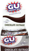 GU Energy™ Gel Chocolate Outrage GU Energy Gel is an advanced nutritional product designed to help athletes perform at their best.    24 - 1.1 oz Packs  $26.95