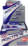 GU Roctane™ Energy Gel Blueberry Pomegrante Roctane's advanced formula aplifies GU's original Energy Gel recipe and adds new ingredients to boost your chance of success.  24 - 1.1 oz Packs  $47.95