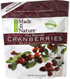100% Certified Organic Dried Cranberries