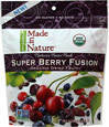 Organic Super Berry Fusion Fruit Blend