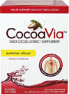 Summer Citrus Daily Cocoa Extract Mix <p><b>Help support healthy circulation from head to toe†.</b> </p> <p>Enjoy delicious dark chocolate-flavored CocoaVia® supplement in milk, hot or chilled coffee drinks, yogurt, smoothies and oatmeal.   Add refreshing, naturally-flavored CocoaVia® supplement to your daily water regimen, or try it in smoothies, unsweetened iced tea or yogurt.</p> <p>When you feel your best, you feel ready for anything.  That
