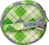Nursing Pad Bag-Green Argyle <p><b>From the manufacturer:</b></p><p>Quick-release carrying strap - fasten bag to stroller, diaper bag, purse, belt loop or backpack</p><p>2 zippered compartments - Use one compartment for used pads, and the other for fresh, clean pads.  Store up to 6-8 pads in each section</p><p>Convenient nursing pad storage - Makes it easy to carry reusable and disposalbe breast pads, wipes or burp pads</p><p>Wate