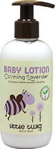Baby Lotion Calming Lavender <p><b>From the manufacturer:</b><p>Phthalate, paraben and sulfate free</p><p>Nut, soy & wheat free</p><p>No synthetic fragrances<p>Hypoallergenic</p><p>Dermatologist tested</p><p>Ideal for sensitive skin</p>  8.5 oz Lotion  $8.49