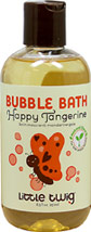 Bubble Bath Happy Tangerine <p><b>From the manufacturer:</b><p>Phthalate, paraben and sulfate free</p><p>Nut, soy & wheat free</p><p>No synthetic fragrances<p>Non-irritating</p><p>Dermatologist tested</p><p>pH balanced</p><p>Ideal for sensitive skin</p>  8.5 oz Liquid  $9.99