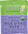 Calming Milk & Oat Bath <p><b>From the manufacturer:</b></p><p>Nourish and calm your baby's skin with this pure-as-can-be bath formula.  Skin-soothing oat and milk powders combine with pure, organic essential oils - like lulling lavender, warming marjoram, and steadying ylang ylang - to soak away tension or simply indulge baby's senses during bath time.</p>  2.5 oz Powder  $2.49