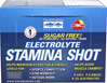 Electrolyte Stamina Shot Berry Flavored Electrolyte Stamina Shot gives you the nutrients you need.  Electrolytes help you stay hydrated during any exercise.  12 pack- 2 oz Liquid  $39.99