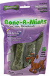 Bone-A-Mints® Medium <B>From the Manufacturer's Label:</B> <P>The first wheat-free breath freshening bone. Highly soluble to reduce the risk of blockage of the intestines and esophagus. Wheat Free Bone-A-Mints® removes plaque, tartar and freshens breath for unbeatable Triple Action Cleaning Power.  For dogs 20-39lbs.</P> 6 Pack  $15.29
