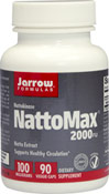 NattoMax® 100 mg <p><strong>From the manufacturer:</strong></p><p>Supports Healthy Circulation**</p><p>2,000 Fibrinolytic Units per capsule</p><p>Vegetarian</p> 90 Vegi Caps 100 mg $17.99