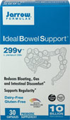 Ideal Bowel Support® <p><strong>From the manufacturer:</strong></p><p>Reduces bloating, gas and intestinal discomfort**</p><p>Supports regularity**</p><p>Diary-free, gluten-free</p><p>Vegetarian</p><p>Probiotic supplement</p><p>Each capsule contains a minimum of 10 billion L. plantarum 299v viable cells.</p> 30 Capsules