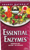 "Essential Enzymes™ <p><strong>From the manufacturer:</strong></p><p>As we age, hydrochloric acid and digestive enzyme secretion both decline; there is a natural need to replenish the body's digestive enzymes.  Add to that the many additional factors - poor eating habits, inadequate chewing, ""eating on the run"" - that contribute to digestive problems.  Essential Enzymes™ is highly effective because it is a Bio-Aligned™ formula that contains a wide array"