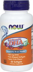 Kids Chewable DHA <p><b>From the manufacturer:</b></p><p>Overall Health**</p><p>Fish-shaped softgels</p><p>Tasty fruit-flavor</p>  60 Softgels  $8.99