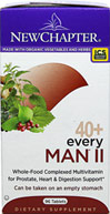 40+ Every Man® II <P><B>From the Manufacturer's label</B></P><P><P><B>40+ Every Man® II</B></P><P>Whole-Food Complexed Multivitamin for Prostate, Heart & Digestion Support.</P><P>Can be taken on an empty stomach.</P><P>Made with organic vegetables and herbs.</P>  96 Tablets  $47.99