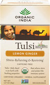 Organic Tulsi Holy Basil Tea Lemon Ginger