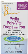 Pedia Poly-Vite Drops with Iron