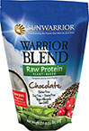 Sun Warrior Raw Protein Blend Chocolate