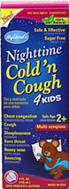Nighttime Cold N Cough 4 Kids