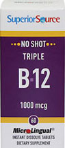 Triple Vitamin B-12 1,000 mcg Microlingual