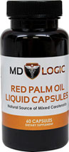 Red Palm Oil Liquid Capsules 750 mg