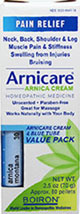 Arnicare Cream/MDT Value Pk