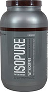 Isopure Whey Protein Isolate with Coffee Espresso