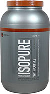 Isopure Whey Protein Isolate with Coffee Colombian