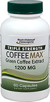 Triple Strength Coffeemax™ Green Coffee Bean Extract 1200 mg