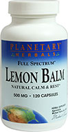 Full Spectrum Lemon Balm 500 mg