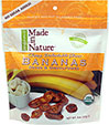 100% Certified Organic Dried Bananas