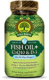 Omega Fish Oil with Co Q10 & Vitamin  D3