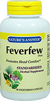 Feverfew Standardized Extract 250 mg