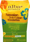 Hawaiian 3-in-1 Clean Towelettes