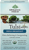 Organic India Breakfast Tulsi Tea