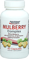 White Mulberry Complex with Cinnamon & Gymnema