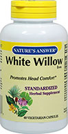 White Willow Bark Standardized 450 mg