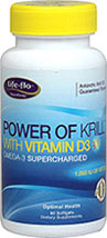 Power of Krill Oil 500 mg with Vitamin D3 500 IU