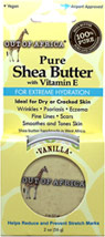 Pure Vanilla Shea Butter with Vitamin E