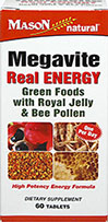 Megavite Real Energy with Royal Jelly & Bee Pollen